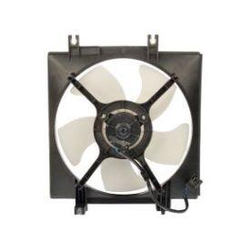 A/C Condenser Cooling Fan Passenger Side Right RH for Subaru Forester Impreza