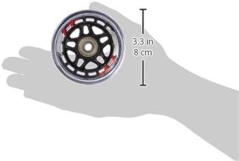 Rollerblade 80mm Inline Skate Wheel and Bearing 8-Pack Kit