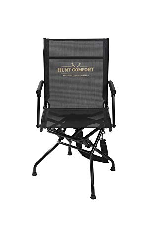 HUNT COMFORT Multi Position Mesh Lite Swivel Hunting Chair