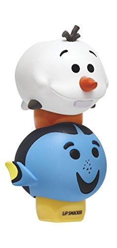 Lip Smacker Disney Tsum Tsum Lip Balm Duo, Dory Blue Tang Berry/Olaf Icy Truffle Treat, 2 Count