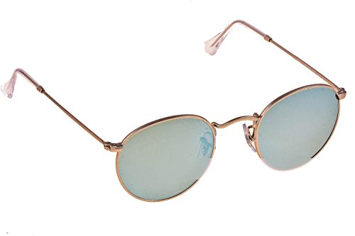 Ray-Ban Rb 3447 Matte Gunmetal Frame/Green Lens - Ban Round Phantos Ray Sunglasses