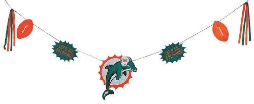 NFLマイアミドルフィンズTeam Celebrationバナー   B0055VPVNU, 余目町 d0f97ae3