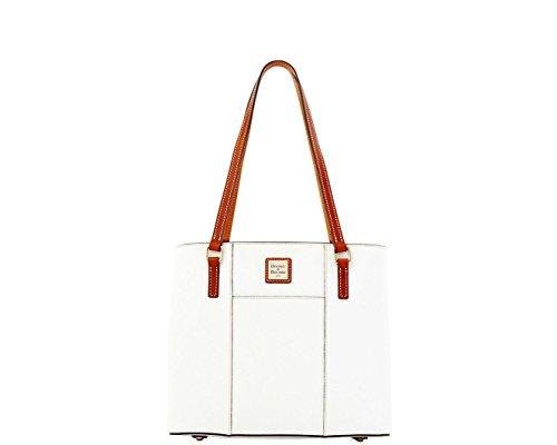 Dooney & Bourke Small Lexington Shopper Pebble Leather White