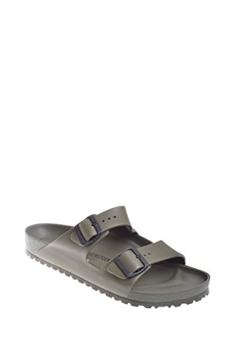Birkenstock Unisex Arizona Essentials EVA Khaki Sandals - 43 M EU