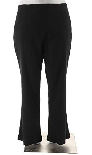 Liz Claiborne NY Gauze Pull-On Pants Black 8 New -