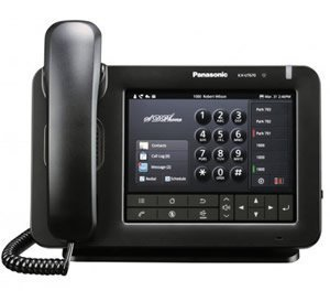 Panasonic KX-UT670 Executive SIP Phone with 7-Inch Color Touch Screen VoIP Phone and Device
