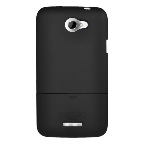 - Seidio CSR3HTNXL-BK SURFACE Case for HTC One X (LTE) - 1 Pack - Carrying Case - Retail Packaging - Black