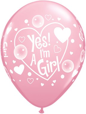 pioneer-balloon-company-50-count-yes-im-a-girl-latex-balloon-11-pink