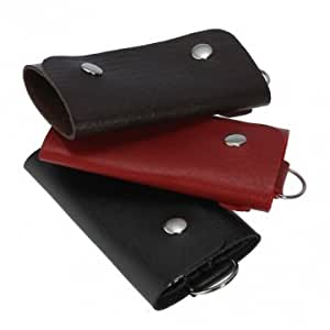 PU Leather Key Case --- Color:Brown