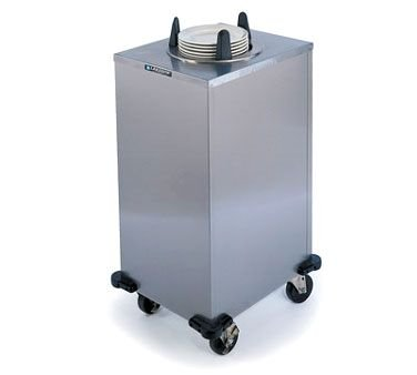 Lakeside 6100 Heated Cabinet Style Mobile Dish Dispenser, Single Tube & 5
