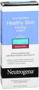 Neutrogena Healthy Skin Firming Cream SPF 15 - 2.5 oz, Pack of 2