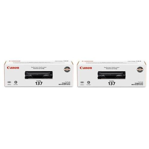 Canon 2X 137 Full Yield Cartridge for MF212w, MF216n, MF227dw, MF229dw Laser Printers from Canon