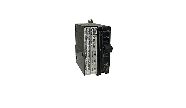 SCHNEIDER ELECTRIC Miniature 120//240-Volt 30-Amp QOB230GFI Molded Case Circuit Breaker 600V 150A