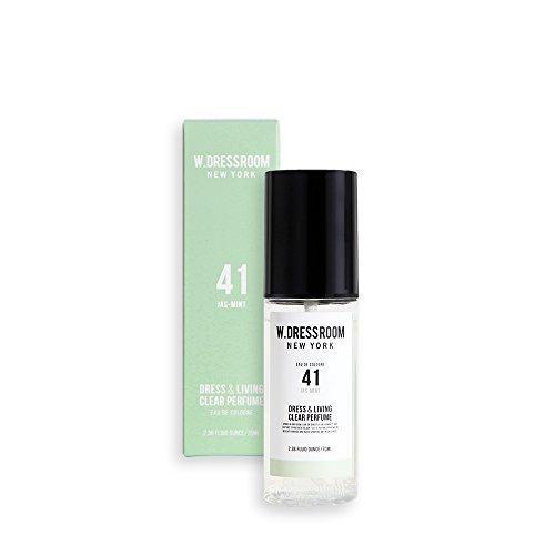 添加豊富差W.DRESSROOM Dress & Living Clear Perfume 70ml/ダブルドレスルーム ドレス&リビング クリア パフューム 70ml (#No.41 Jas-Mint) [並行輸入品]