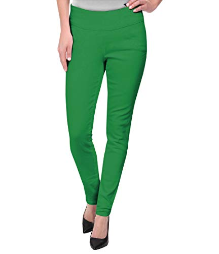 (Super Comfy Stretch Pull On Millenium Pants KP44972 Kelly GREE)