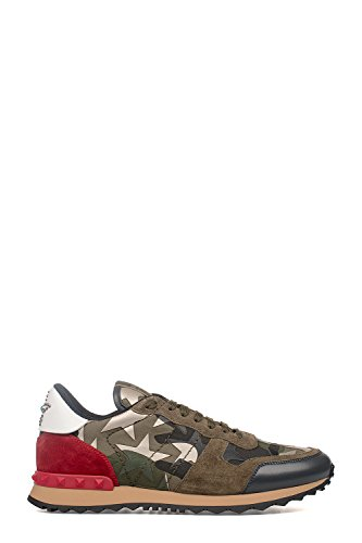 Valentino Garavani Men's Ly2s0723ctb243 Multicolor Fabric Sneakers