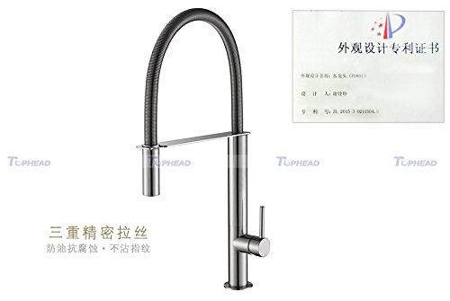 Gyps Faucet Basin Mixer Tap Waterfall Faucet Antique Bathroom Kitchen faucet full copper kitchen faucet kitchen basin sink faucet brushed spring PD801B-5 Bathroom Tub Lever Faucet