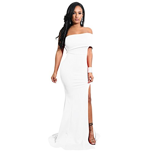 Polyester Polyester Polyester Gabby Robe Blanc Droite Femme Paississement Spandex Kelly ZXwWUv