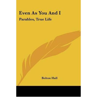 Download Even as You and I: Parables, True Life (Paperback) - Common pdf