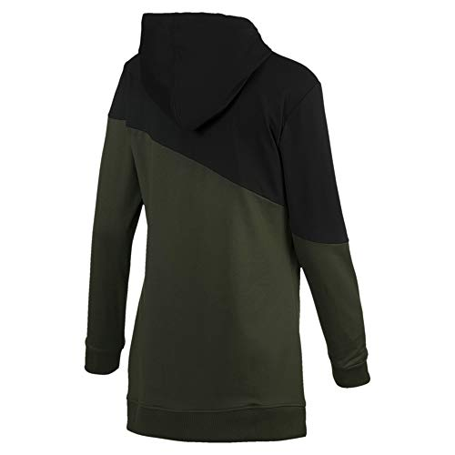 Blocked c A Sudadera Puma Mujer Night Black e forest 4tZznxnwq