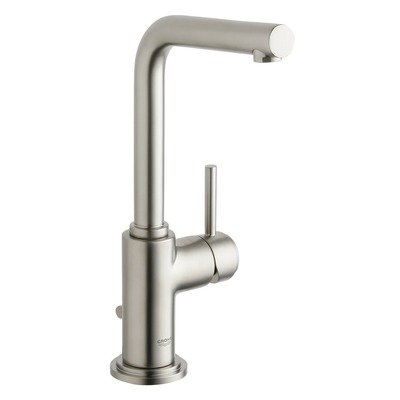 Grohe 32 006 EN1 Atrio 7 Degree Single Lever Centerset Lavatory, Infinity Brushed Nickel