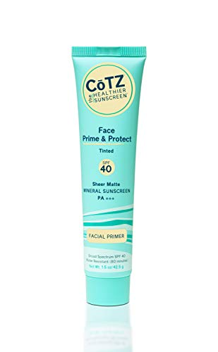 Cotz Face Natural Skin Tone SPF 40, 1.5 Ounce