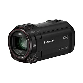 Panasonic HC-VX870K 4K Ultra HD Camcorder, Twin Video (PIP) WiFi from Smartphone Capture Feature (Black)