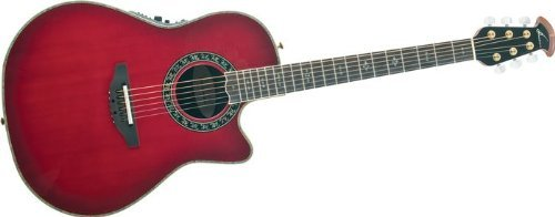 (Ovation AX Series C2079AX-CCB Acoustic-Electric Guitar, Cherry Burst)