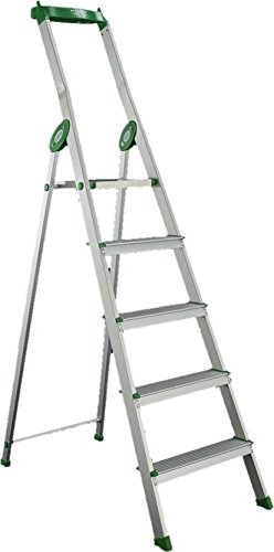 Bathla Eco 4 Step Aluminium Ladder (With Platform, Tool Tray)…