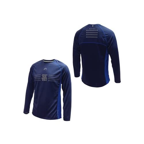31 Uk3ZQ4mL. SS500  - More Mile More-Tech Mens Long Sleeve Running Top MM1581-84