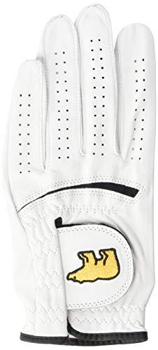 Jack Nicklaus Men's Golden Bear Leather Golf Glove, bright white, Cadet: Medium (Jack Nicklaus Golden Bear Golf Clubs Review)