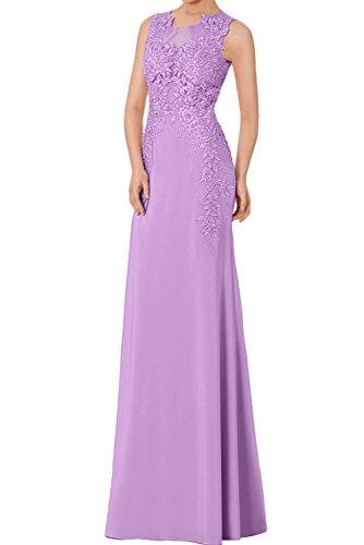 Lilac trapecio Vestido para Topkleider mujer PIRwZ