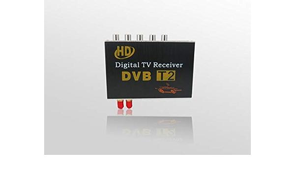 GAX Antena Doble TV vía satélite decodificador Coche Digital ...