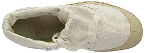 Palladium BAGGY LOW LP - botas desert de lona mujer beige - Beige (IVORY/PUTTY 159)