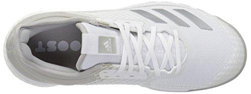 X 2 Crazyflight Two White Originalscp8900 grey Adidas silver Metallic Donna PqR4EtwxnT