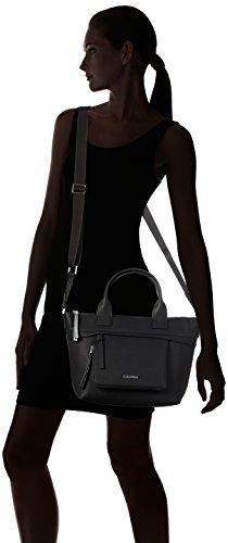 Black x Tote Ch4rly Nero Calvin Sacchetto Klein t Donna Medium cm x 14x24x25 b h x6HqPFw