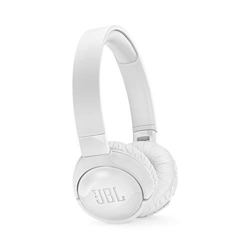 JBL TUNE 600BTNC - Noise Cancelling On-Ear Wireless Bluetooth Headphone - White