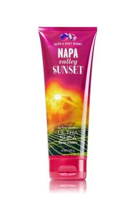Napa Valley Sunset Signature Collection Ultra Shea Body Cream 8 Oz   226 G