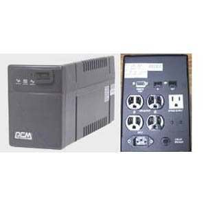 Powercom BNT-1000CS, 4UPS+2Surge 1000VA/600W