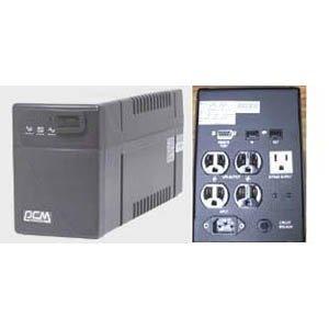Powercom BNT-1000CS, 4UPS+2Surge 1000VA/600W by Powercom