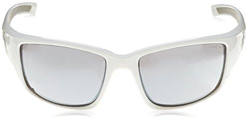 Alpina Lunettes de soleil unisexe - Blanc/gris