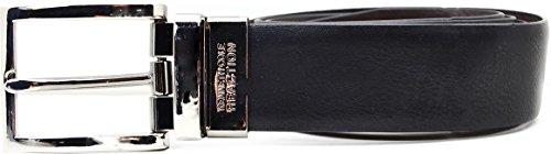 Kenneth Cole Reaction Belts, Beveled Reversible Belt Black/ Brwn 34