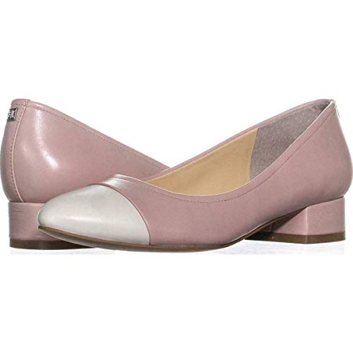 Ivanka Trump Womens Larrie Leather Cap Toe Classic Pumps Shoes Pink Size 10.0 M US