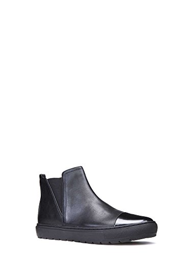 Geox D642QE 08554 Ankle Boots Women Black TcbTFf