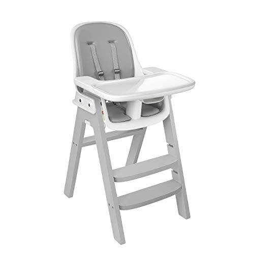OXO Tot OXO Tot Sprout Chair with Tray Cover, Gray and Gray