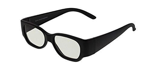 Passive 3 D Black TH0002 Gaming Cinema TV PC Glasses Polarised Children - Eyeware Accessories