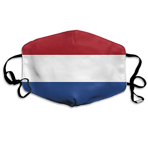 SDQQ6 Flag of The Netherlands Mouth Mask Unisex Printed Fashion Face Mask Anti-dust Masks
