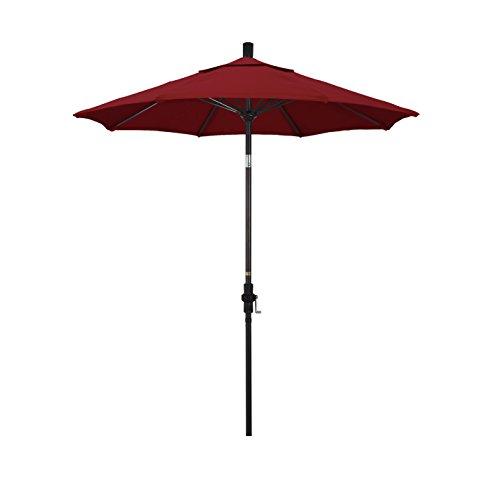 Red 7.5' Olefin Umbrella - 7
