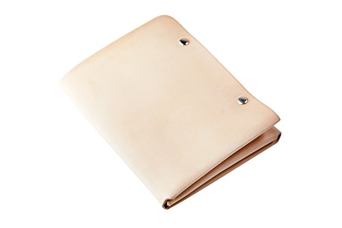 Tanned Natural Slim Wallet Lentz Sun Personalized Men's Mr Trifold Leather z8qA6wp