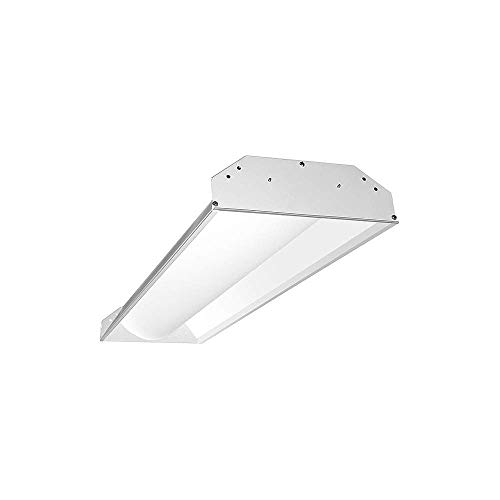 (Acuity Brands Lighting - S1X4BL-5550U-WH4 - Recessed Troffer, LED Replacement For 60W, 5000K, Lumens 5500, Fixture Rated Life 50, 000 hr.)
